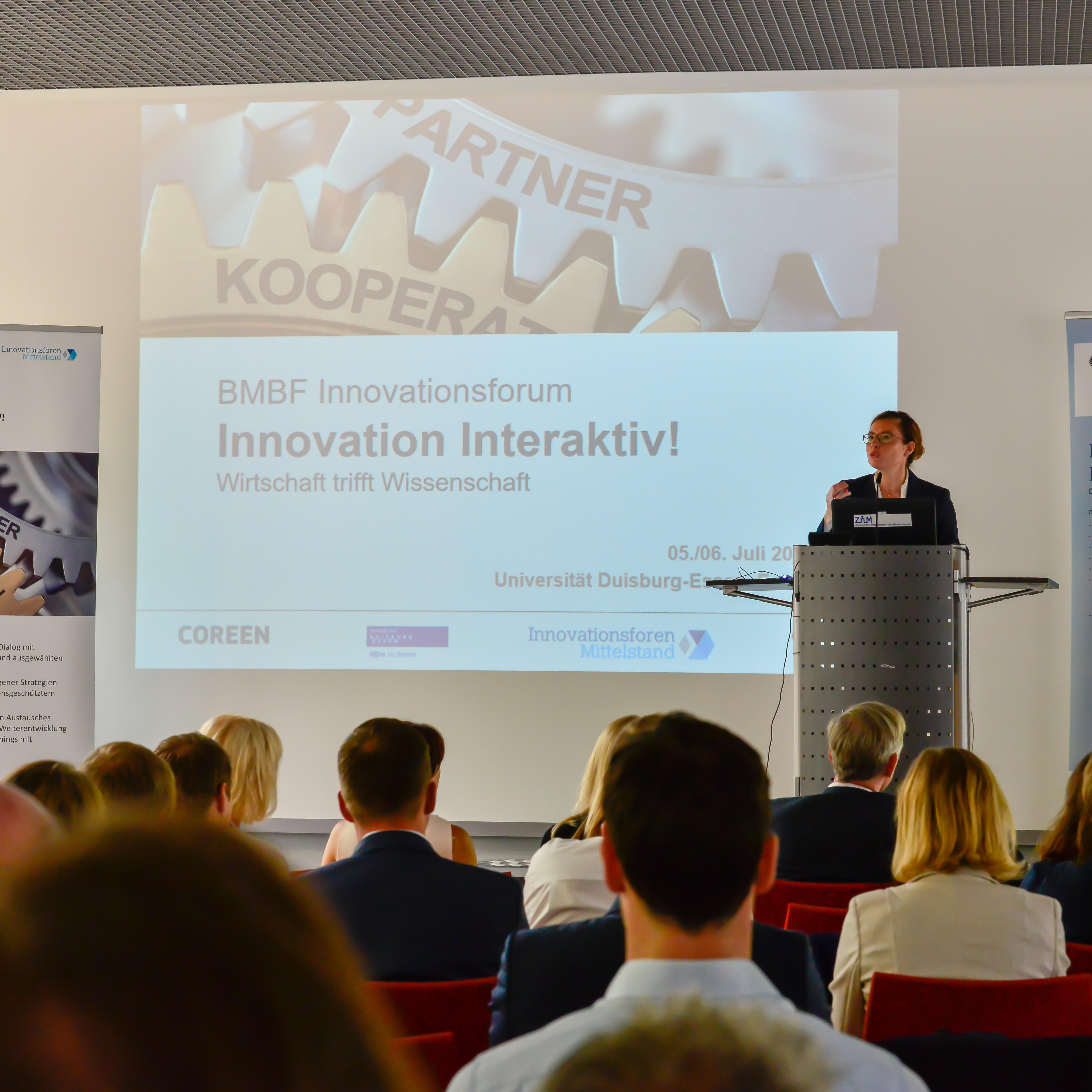 BMBF-Plattform für den Austausch zwischen Wirtschaft und Wissenschaft  erfolgreich an der UDE gestartet
