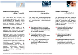 Flyer Materialverwertung